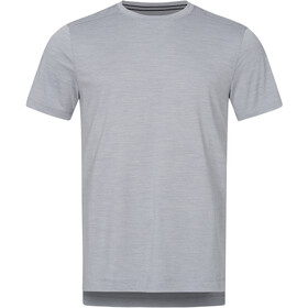 super.natural Highwood T-shirt Heren, silver grey melange